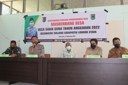 Musrenbangdes Desa Sama Guna Tahun Anggaran 2022